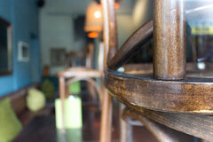 Concepto cerrado del restaurante Fotos de archivo libres de regalías
