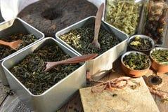 Concepto chino de la tienda del té Imágenes de archivo libres de regalías