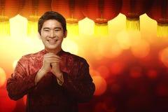 Concepto chino del Año Nuevo Imagen de archivo libre de regalías