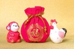 Concepto chino del Año Nuevo Imágenes de archivo libres de regalías
