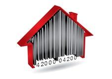 Concepto comercial con el código de barras Imagen de archivo libre de regalías