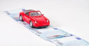 Concepto: compra de un nuevo coche Fotografía de archivo libre de regalías