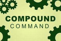 Concepto compuesto del comando stock de ilustración