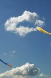 Concepto computacional de la nube. imagenes de archivo