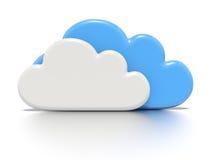 Concepto computacional de la nube. libre illustration