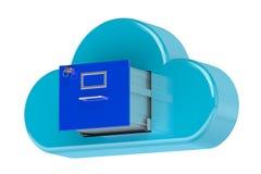 Concepto computacional del almacenamiento Imagenes de archivo