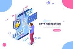 Concepto confidencial del control de la tarjeta de crédito de la protección de datos