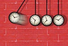 Concepto corriente del tiempo Fotos de archivo libres de regalías