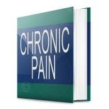 Concepto crónico del dolor libre illustration