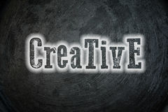 Concepto creativo foto de archivo