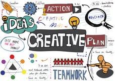 Concepto creativo de la innovación de la inspiración de las ideas del diseño de la creatividad Fotos de archivo
