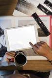 Concepto creativo del estudio del diseño del empleo de las ideas de la fotografía fotos de archivo