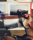 Concepto creativo del estudio del diseño del empleo de las ideas de la fotografía Imágenes de archivo libres de regalías
