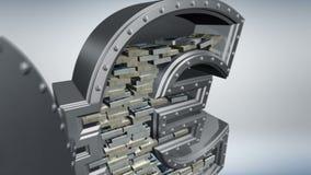 Concepto 3D del dinero