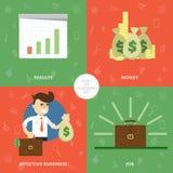 Concepto de éxito una novedad stock de ilustración