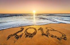Concepto de Año Nuevo próximo y paso del tiempo Fotos de archivo