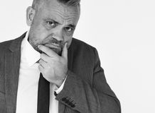 Concepto de Adult Portrait Occupation del hombre de negocios Fotos de archivo