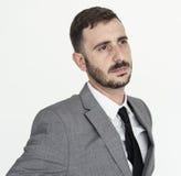 Concepto de Adult Portrait Occupation del hombre de negocios Fotos de archivo libres de regalías