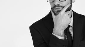 Concepto de Adult Portrait Occupation del hombre de negocios Imagenes de archivo
