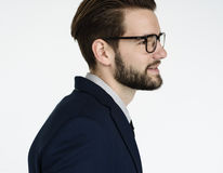 Concepto de Adult Portrait Occupation del hombre de negocios Imagen de archivo libre de regalías