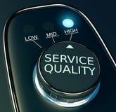 Concepto de alta calidad del servicio ilustración del vector