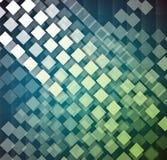 Concepto de alta tecnología de la informática del infinito del verde del eco Imagen de archivo libre de regalías