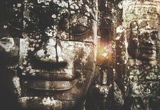 Concepto de Angkor Wat Religious Faith Religious Buddhist Fotografía de archivo
