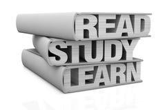 Concepto de aprendizaje Imagen de archivo libre de regalías