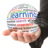 Concepto de aprendizaje Foto de archivo