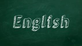concepto de aprendizaje inglés libre illustration