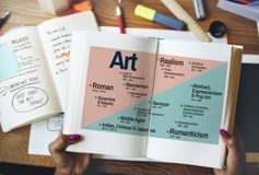 Concepto de Art Abstract Creation Expression Imagination Fotos de archivo libres de regalías