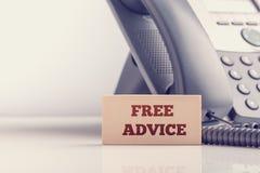 Concepto de asesoramiento jurídico libre fotografía de archivo