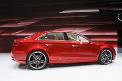 Concepto de Audi A3 - demostración de motor de Ginebra 2011 Foto de archivo libre de regalías