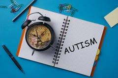 Concepto de autismo Foto de archivo