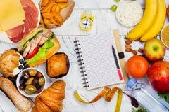 concepto de ayuno de la dieta del 5:2 foto de archivo