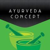Concepto de Ayurveda Fotografía de archivo libre de regalías