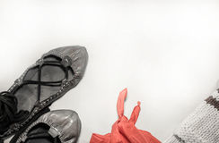 Concepto de baile del país del verano de la gente vasca del festival Imagen de archivo libre de regalías
