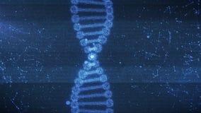 Concepto de bioquímica con la molécula de la DNA libre illustration