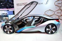 Concepto de BMW i8 en IAA Francfort 2011 imagen de archivo