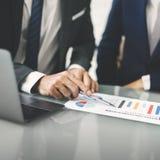 Concepto de Brainstorming Business Busy Chart Company foto de archivo libre de regalías