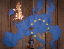 Concepto de Brexit Fotos de archivo libres de regalías