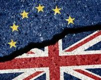 Concepto de Brexit foto de archivo libre de regalías
