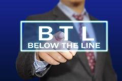 Concepto de BTL Foto de archivo