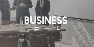 Concepto de Business Corporate Development Corporation Foto de archivo libre de regalías