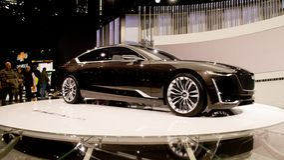Concepto de Cadillac Escala en Ginebra 2017 Fotografía de archivo libre de regalías