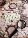Concepto de calidad mundial Imagen de archivo libre de regalías