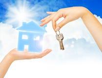 Concepto de casa de compra Foto de archivo libre de regalías