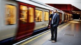 Concepto de Caucasian Male Professional del hombre de negocios Imagen de archivo libre de regalías