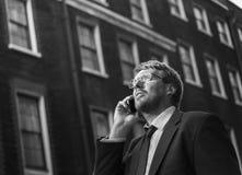 Concepto de Caucasian Male Professional del hombre de negocios Fotografía de archivo libre de regalías