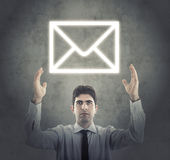 Concepto de comercio electrónico moderno Imagen de archivo libre de regalías